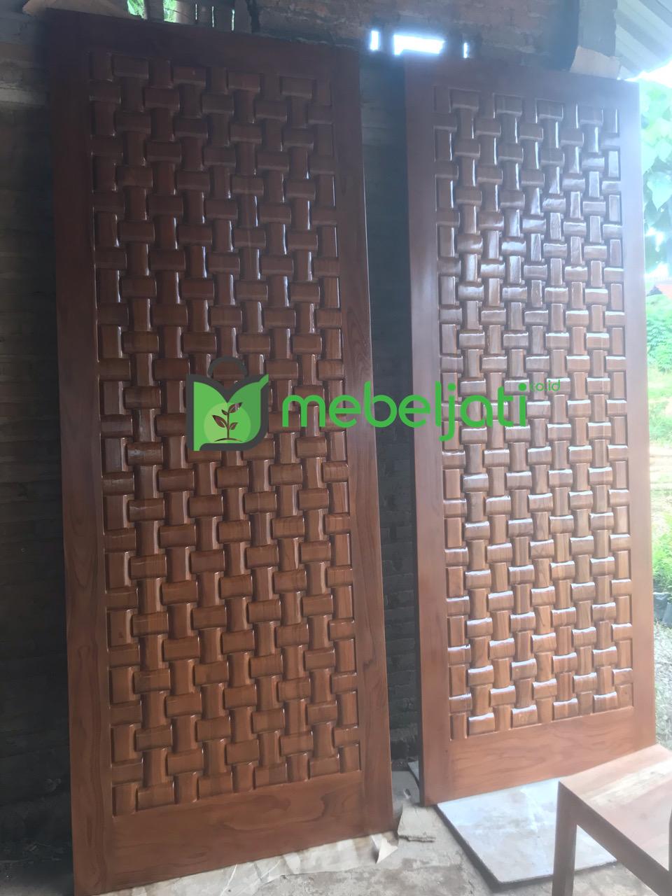 Gambar Asli Pintu Depan Rumah Minimalis Terbaru 2021