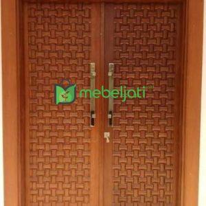 Model Pintu Rumah Minimalis Terbaru 2 Daun 2021