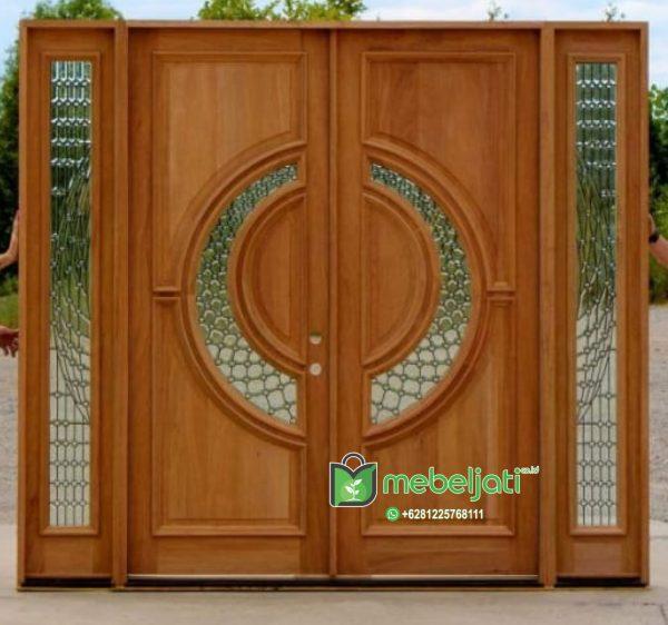 Model Pintu Kayu Jati Minimalis Jepara Terbaru